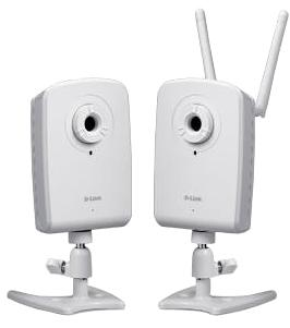 D-Link DCS-1100 and DCS-1130 IP webcam promise simple setup