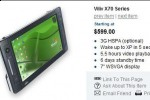 Viliv X70 MID priced from $599