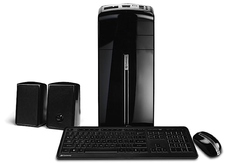 Gateway SX SFF and DX mini-tower PCs announced