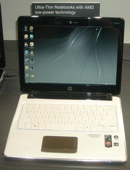 HP dv2 getting dual-core Congo & Athlon 2 CPUs, white option