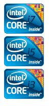 Intel rebrand with Core i3, i5 and i7; Centrino shifted to WiFi/WiMAX