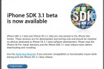 iPhone 3.1 Beta Released to iPhone Developers