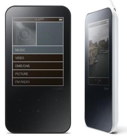 iriver B30 PMP gets video walkthrough
