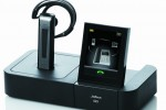 Jabra GO 6400 and PRO 9400 wireless headsets with touchscreen base-station
