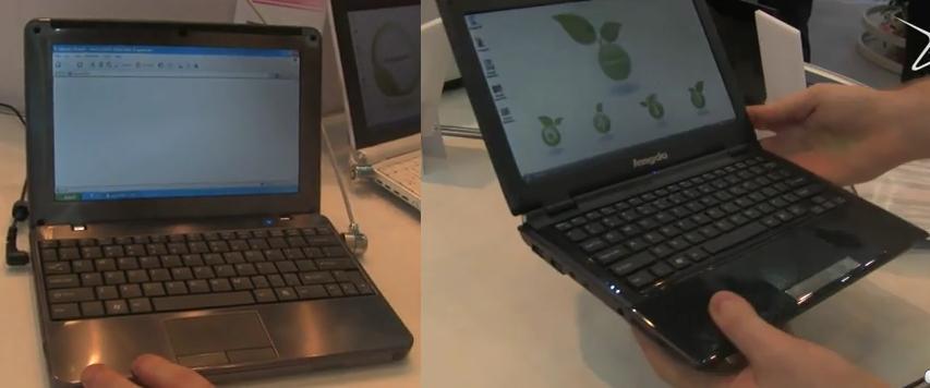 Lengda M11A CULV notebook & X10K netbook [Video]