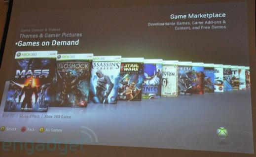 Xbox 360 Games-on-Demand coming August