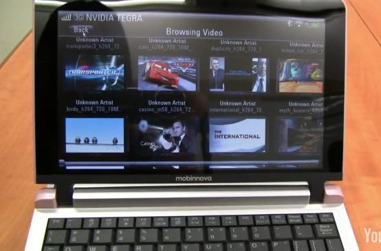 Mobinnova élan smartbook software demo [Video]