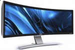 NEC CRV43 43-inch curved LCD arrives July for $8k