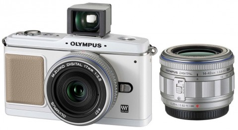 Olympus E-P1 Micro Four Thirds camera detailed early