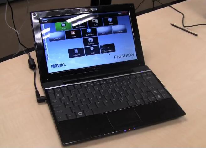 Pegatron Netbook: Freescale CPU, 8hr battery, super-slim & 3G [Video]