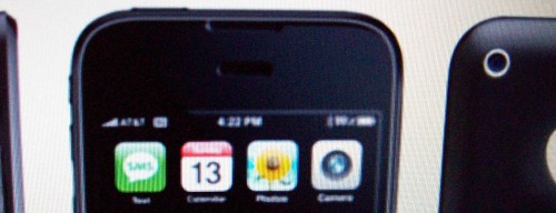 3rd-gen iPhone photos leaked? Front camera, headphone port on base