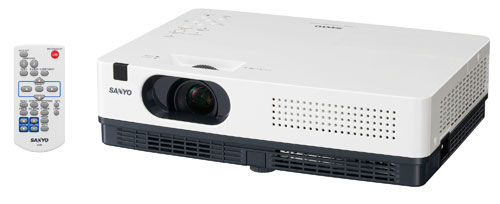 Sanyo announces two ultraportable green projectors