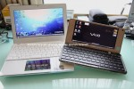 Sharp NJ70A versus Sony VAIO P video boot race