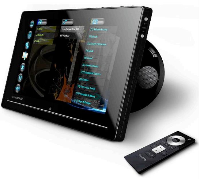 SilverPac SilverFrame with touchscreen, WiFi-n, SideShow and media streaming
