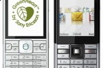 Sony Ericsson GreenHeart C901 & Naite earth-friendly cellphones