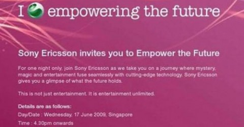 Sony Ericsson preparing XPERIA X2 for Wednesday reveal?