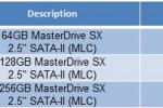Super Talent MasterDrive SX SSD: up to 256GB, 220MB/sec read