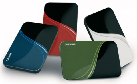 Toshiba Portable Hard Drives get new security and backup functions