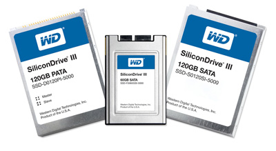 Western Digital SiliconDrive III SSDs announced
