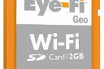 Eye-Fi Geo WiFi SD card exclusive for Apple users