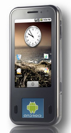 Russian HIGHSCREEN PP5420 Android phone with dual touchscreens