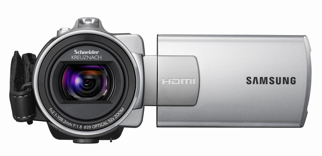 Samsung SMX-K40 and K45 entry-level solid-state camcorders