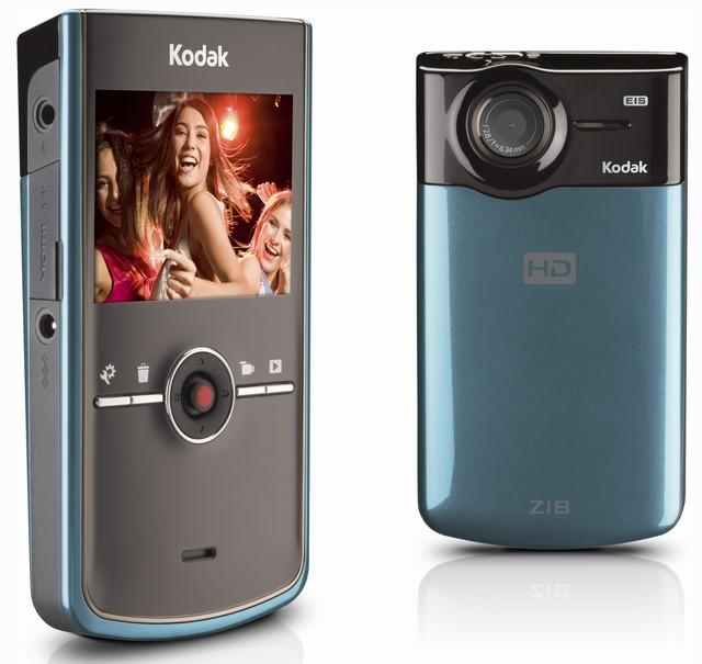 Kodak Zi8 1080p camcorder with image stabilizer