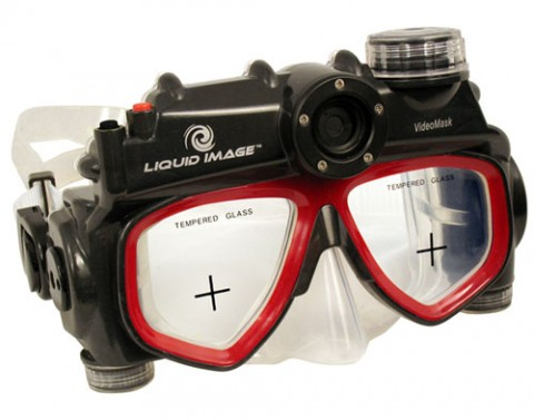 Liquid Image UDCM310 diving mask camera revealed