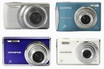 Olympus Stylus-7010, FE-5020, FE-4000 and FE-46 12MP digicams announced