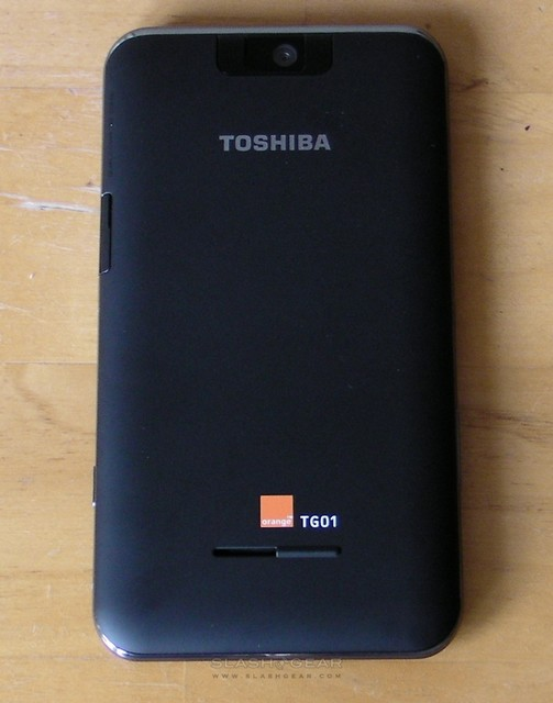 Orange Toshiba TG01 Review