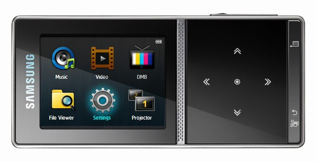 Samsung MBP200 pico-projector/PMP hybrid hits Europe