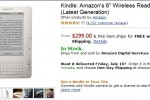 Amazon Kindle 2 drops to $299