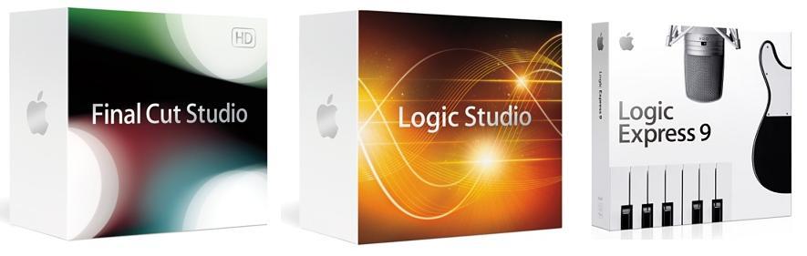 Apple release new Final Cut Studio, Logic Studio & Logic Express 9