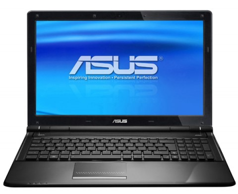ASUS U50VG, K50AB, K50IJ and K70AB notebooks arrive