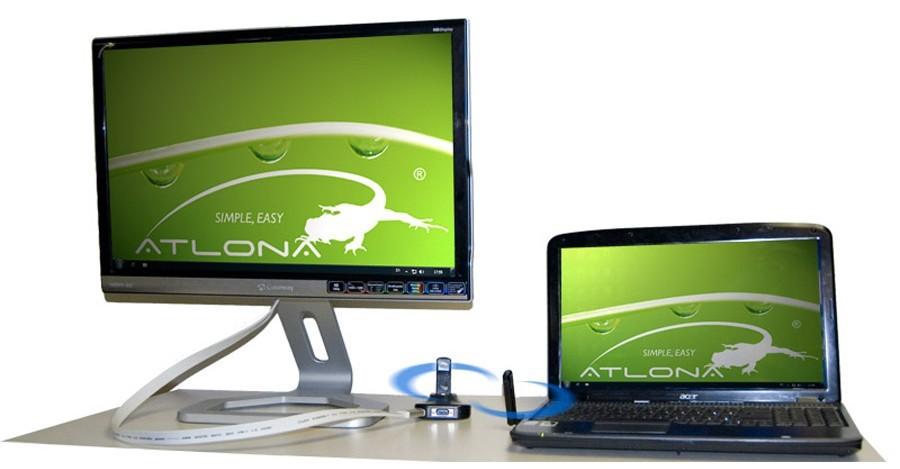 Atlona HDAiR wireless USB to HDMI/VGA adapter