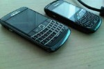 BlackBerry Onyx with optical trackpad spotted in wild