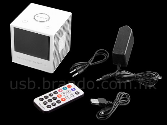 Brando Cube desktop PMP with 3.5-inch LCD