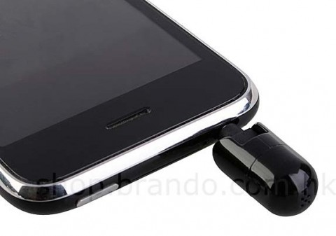 Brando flexible microphone for iPhone 3GS announced