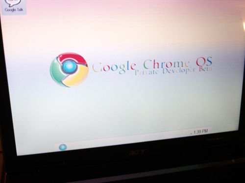 Google Chrome OS leaked screenshots: is this Microsoft's newest rival?