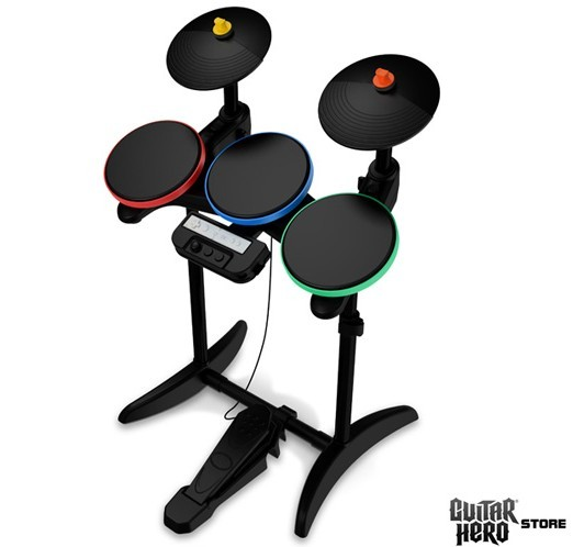 Guitar Hero 5 official drum kit revealed