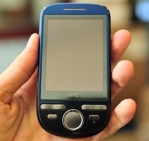 HTC Click spotted in wild: entry-level Android for later in 2009