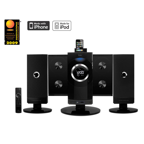 iLuv iMM9400 Vertical CD/MP3 Audio system revealed