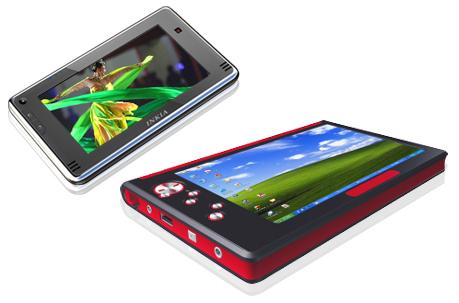 Inkia 5- and 7-inch Atom MIDs with 3G, WiFi & SSD