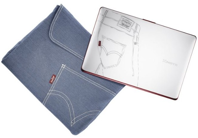 LG Xnote Mini X120 Levi's Special Edition mixes denim with Atom