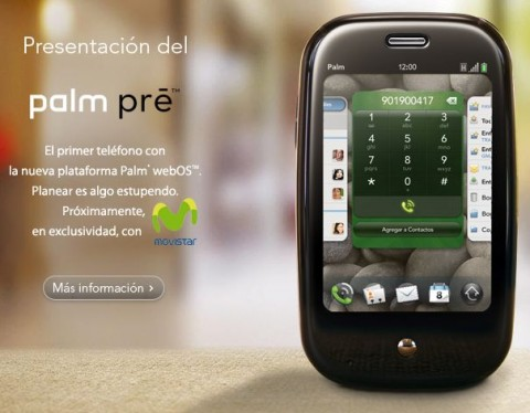 Palm confirm Movistar GSM Pre exclusivity; O2 to follow?