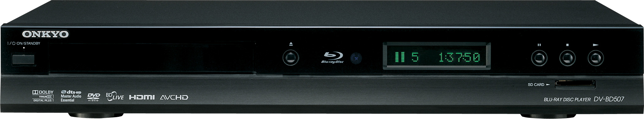 Onkyo DV-BD507 Blu-ray player: pricey but polished