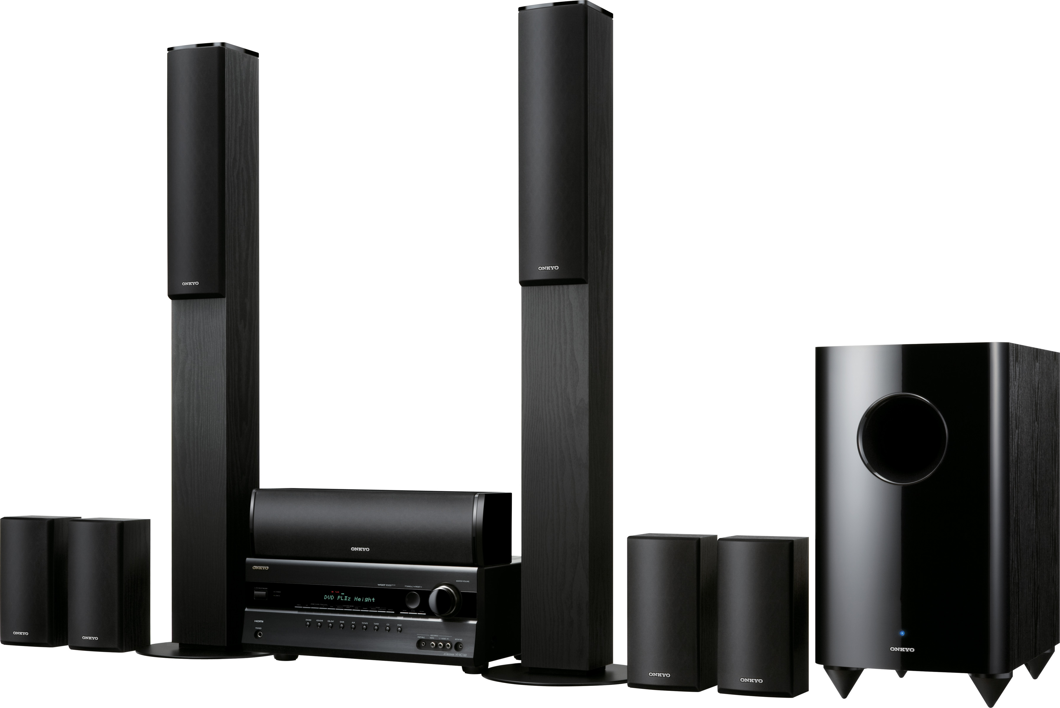 Onkyo HT-S7200 and HT-S6200 7.1-channel systems with ProLogic IIz support