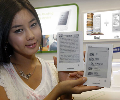 Samsung SNE-50K e-book reader announced