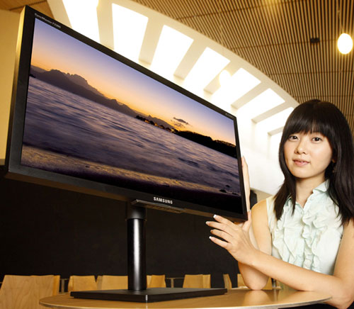 Samsung announces two SyncMaster 80 Series LCD displays