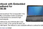 Best Buy offer Sprint Compaq 3G netbook for $0.99